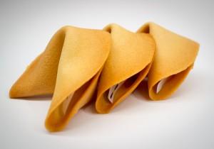 Koláčiky šťastia (fortune cookies)